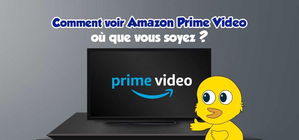 regarder amazon prime video