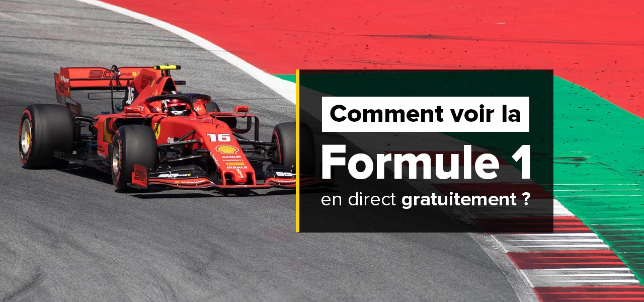 regarder formule 1 en direct