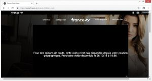 france 2 non disponible
