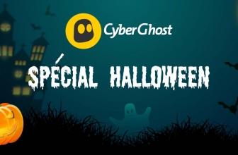 CyberGhost : Une offre limitée pour Halloween !!!