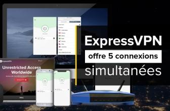 Connectez jusqu'à 5 appareils avec ExpressVPN