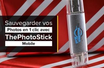 ThePhotoStick Mobile pour sauvegarder photos et vidéos !