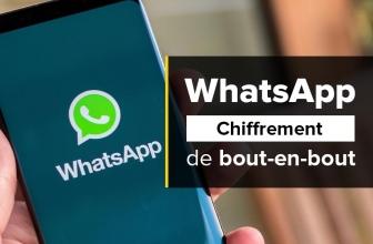 WhatsApp introduit le chiffrement de bout-en-bout de ses messages !