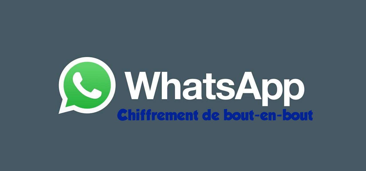whatsapp chiffrement